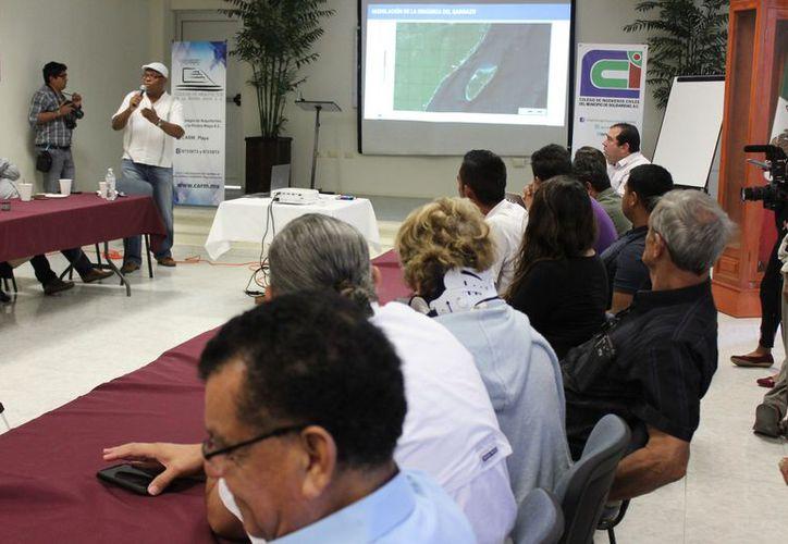Se anunció un foro internacional, durante una reunión entre empresarios. (Adrián Barreto/SIPSE)