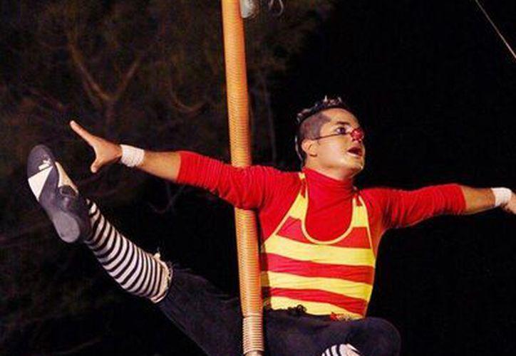 El circo Imagine ofrecerá una función gratuita este sábado en Puerto Morelos. (Cortesía)