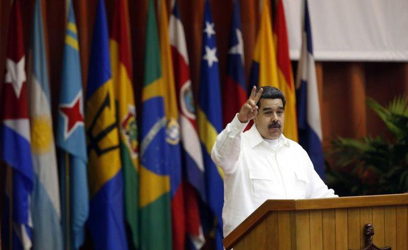 Nicolás Maduro tuvo participación en el Foro con sede en La Habana. (vanguardia.com)