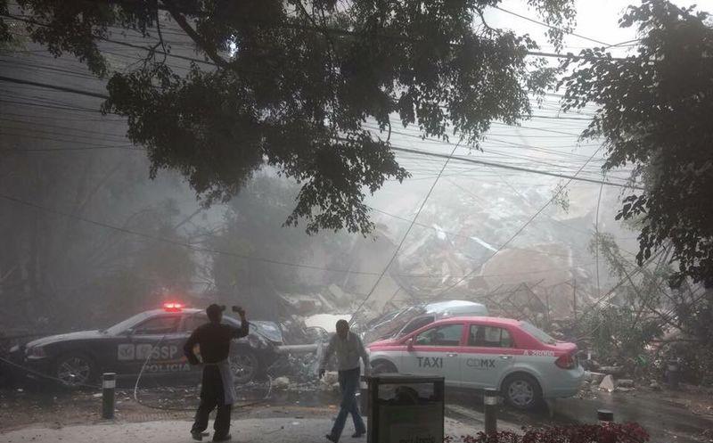 Al menos 42 personas muertas en Morelos por el sismo