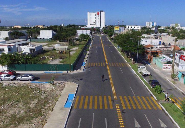 El alcalde Mauricio Vila entregó este jueves obras de mejoramiento de infraestructura urbana en Cordemex -Gran Plaza. (Fotos cortesía del Ayuntamiento)