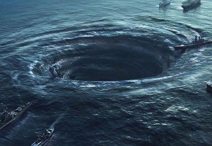 La causa de la desaparición de embarcaciones y aviones en esta zona puede estar en el singular oleaje que se genera en este punto. (Plano Informativo)