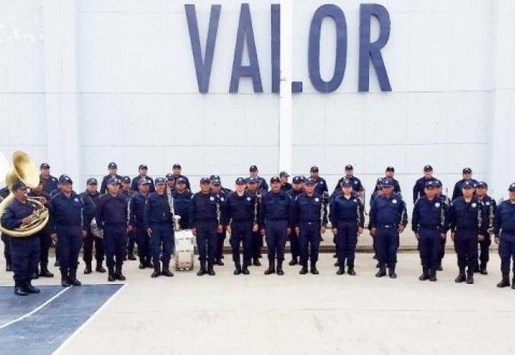 La realización de la Guelaguetza no corre peligro, de acuerdo a dirigentes de la SNTE en Oaxaca. En la foto, banda musical de la Policía Estatal durante una práctica. (despertardeoaxaca.com)