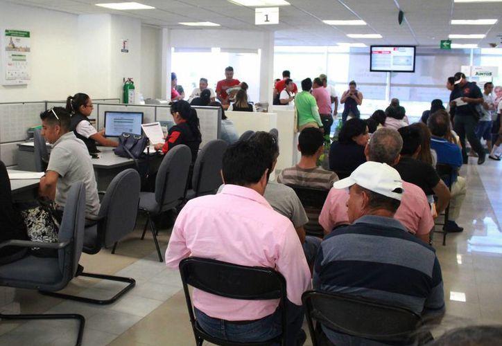 En las revisiones de gabinete el contribuyente va al SAT. (Luis Soto/SIPSE)