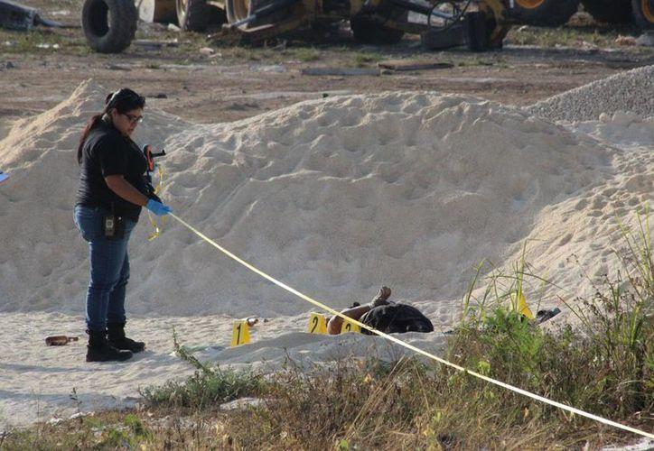 En 2017 se registraron en Quintana Roo 450 casos de homicidios. (Joel Zamora/SIPSE)