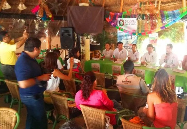 La Canacintra anunció que el próximo fin de semana se realizará el Playa Market en Playa del Carmen. (Daniel Pacheco/SIPSE)