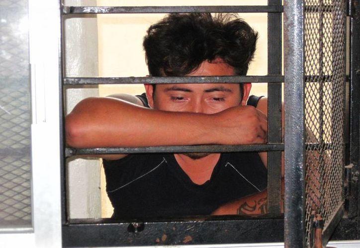 El vendedor de tortillas Cristian Moo Azcorra confesó haberse drogado el día de los hechos. (Francisco Puerto/SIPSE)