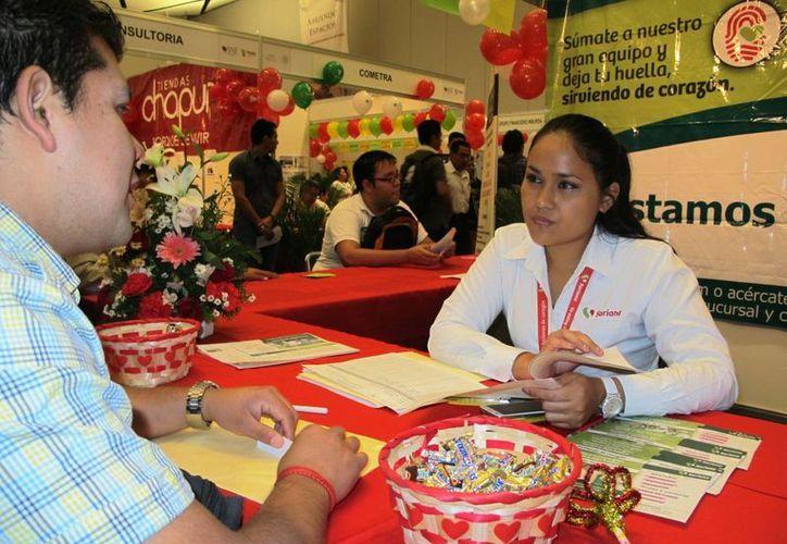 Este jueves se realizó la cuarta Feria Nacional de Empleo en Yucatán. (Fotos cortesía del Gobierno)