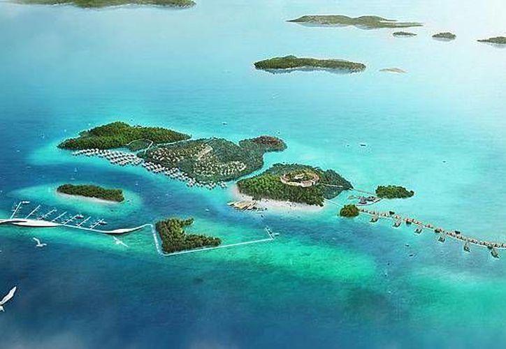 Funtasy Island será el parque temático ecológico más grande del mundo. (news.com.au)