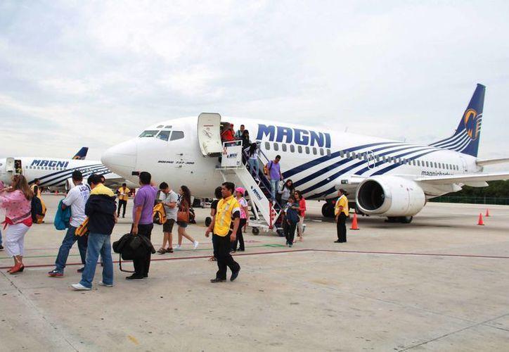 A Cancún llegan vuelos de la Ciudad de México, San Luis Potosí, Monterrey, Guadalajara, Chihuahua y León. (Luis Soto/SIPSE)