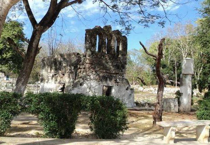 Varios enigmas esconde la gruta de Tabi. (Jorge Moreno/SIPSE)