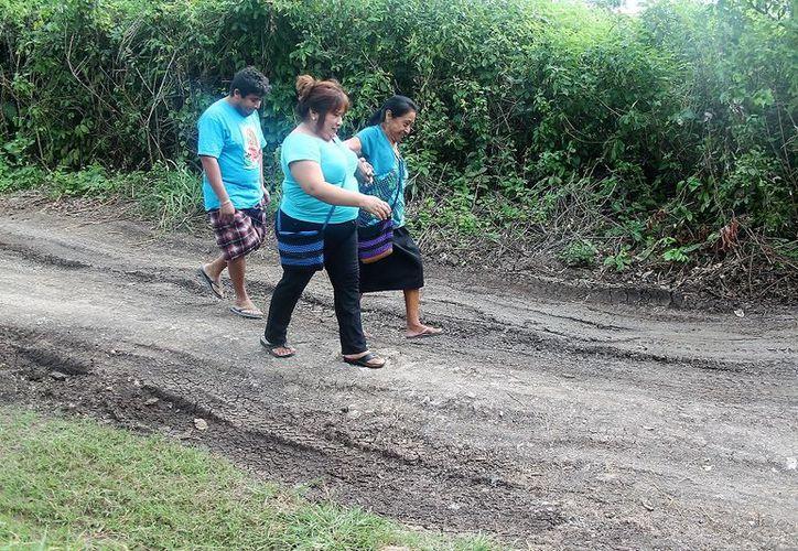 Los habitantes de la colonia Nuevo Progreso acondicionaron las áreas de acuerdo a sus posibilidades. (Javier Ortiz/SIPSE)