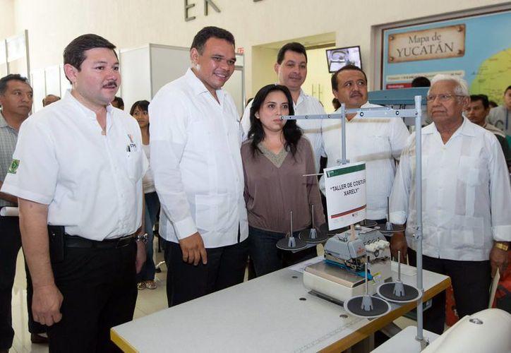 El Gobernador del Estado encabezó la entrega de equipos y herramientas. (Milenio Novedades)