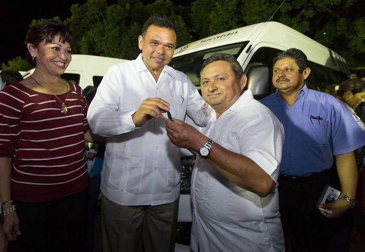 En Motul, el Gobernador convocó a productores agrícolas, pecuarios y agroindustriales a conformar una gran alianza estratégica que contribuya a impulsar al campo yucateco. (Cortesía)