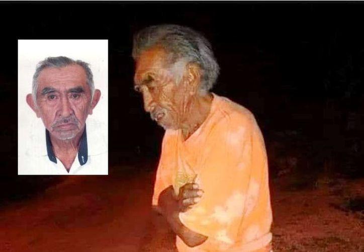 Se pide ayuda para localizar al señor Miguel Noh Nah, de 73 años de edad. (Foto: redes sociales)