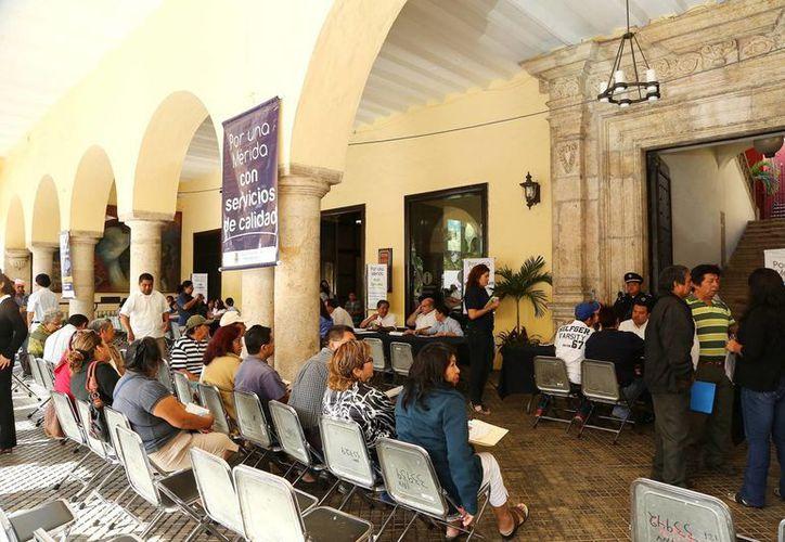 Según el Ayuntamiento, 378 personas acudieron al Miércoles Ciudadano. (Cortesía)