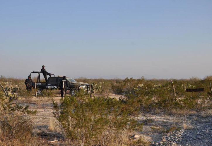 Zona donde fueron hallados los cadáveres de los integrantes del grupo Kombo Kolombia. (Agencias)