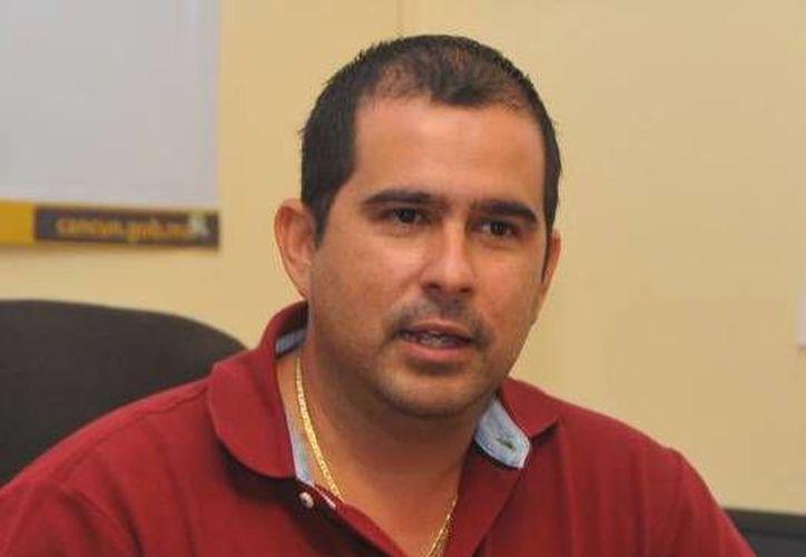 El director de Servicios Públicos municipales dijo que quiere entregar todo correcto a la Contraloría municipal. (Cortesía/SIPSE)
