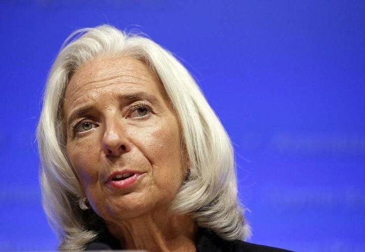 La directora gerente del Fondo Monetario Internacional, Christine Lagarde, declaró que al poner Grecia en marcha las medidas financieras establecidas, se estaría abriendo la posibilidad de recibir un programa crediticio que le ayude a estabilizar su situación  deudora. (Archivo AP)