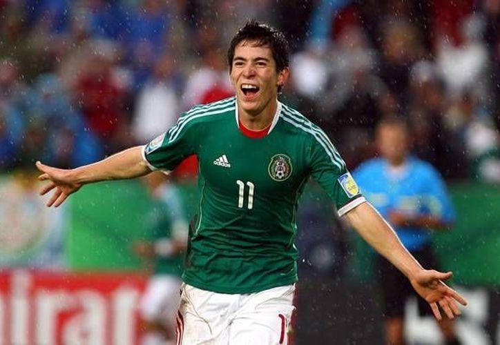 Marco Antonio Bueno, delantero de 19 años, jugará en la Liga de Ascenso MX.(pamboleros.net)