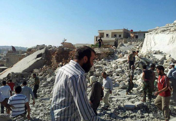 El conflicto sirio amenaza seriamente la estabilidad de Líbano e Irak. (Agencias)