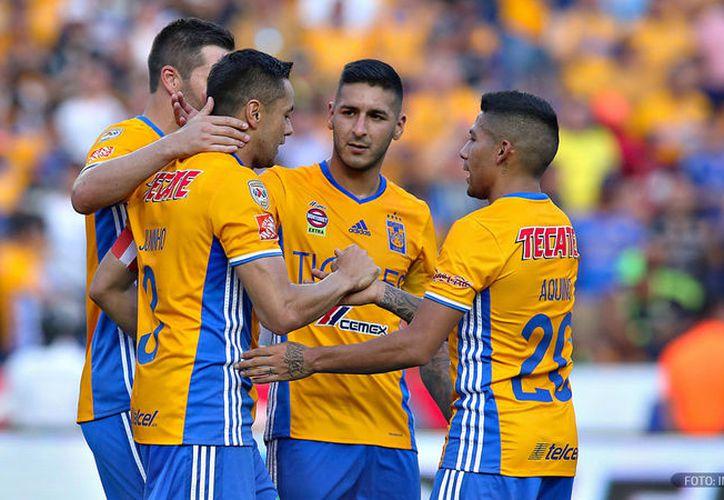 Jugadores de Tigres presentan lesiones por su actuación en Concachampions. (Contexto/ Internet)
