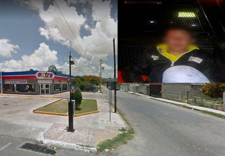 El frustrado ladrón fue llevado a las instalaciones de la SSP, donde se le practicaron exámenes toxicológicos que determinaron que estaba ebrio y drogado con cocaína. (Google Maps/Especial)