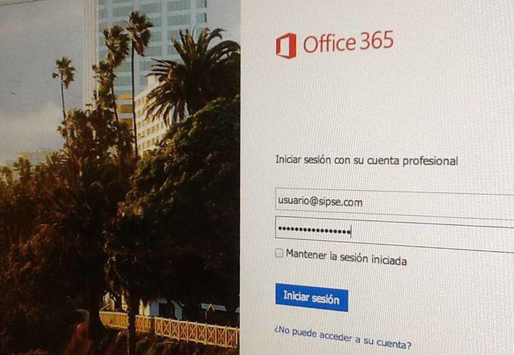 Los correos viajarán encriptados desde Office 365 a cualquier servidor. (Foto: SIPSE)