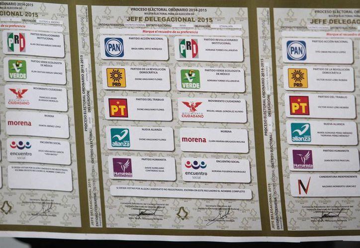 El pasado mes de abril comenzó la producción de las 87 millones de boletas electorales que se utilizarán el próximo 7 de junio. (Notimex)