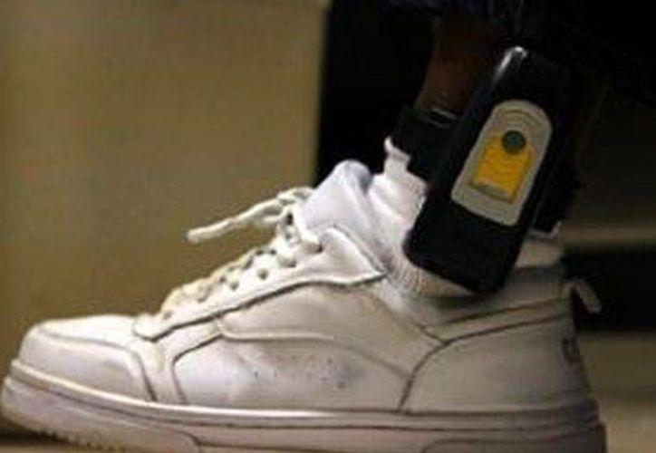 Es la primera vez que se utilizar el brazalete electrónico en Yucatán para un imputado. (cuatro.com)