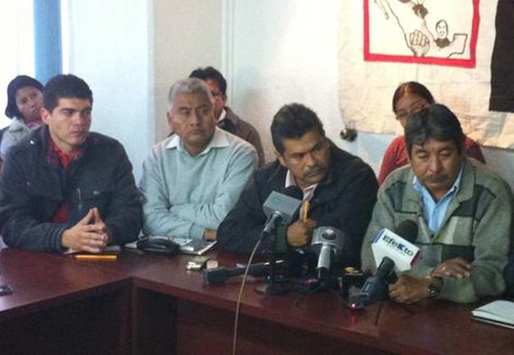 Líderes magisteriales anunciaron una movilización nacional el próximo 17 de enero. (Milenio)
