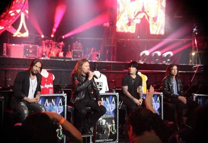 El grupo mexicano Maná, formado en 1986, traerá en abril su más reciente disco 'Cama encendida'. (mana.com.mx)