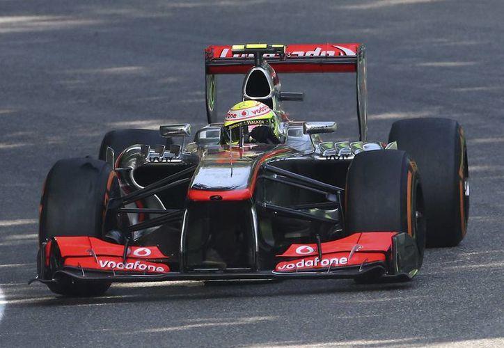 'Checo' clasificó en octavo para el GP de Monza. (Foto: Agencias)