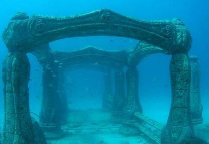 Este cementerio submarino es considerado único en el mundo. (Especial)