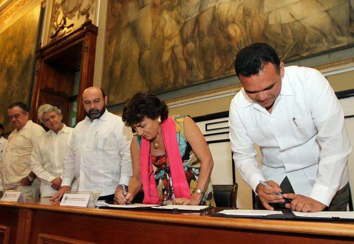 Yucatán y Francia trabajarán para elevar la calidad educativa.(Milenio Novedades)
