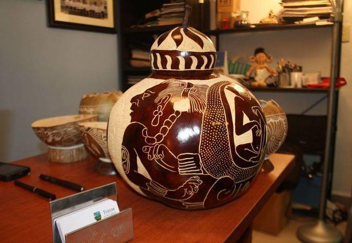 El objetivo era promocionar Tulum como Pueblo Mágico  y las artesanías mayas. (Sara Cahuich/SIPSE)