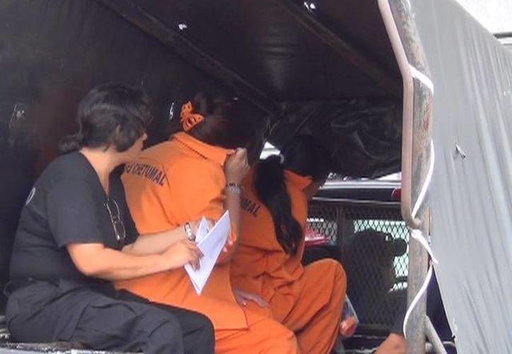 Las acusadas por tráfico de personas se encontraban recluidas en el área femenil del Cereso de Chetumal, desde el pasado 31 de enero del 2012. (Archivo/SIPSE)