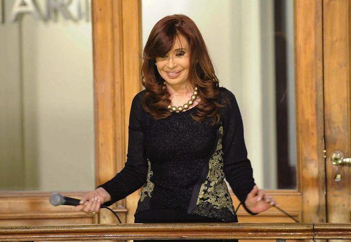 Cristina Fernández, expresidenta de Argentina, acudirá a los tribunales a declarar sobre una dudosa compra realizada en dólares durante su mandato. (Archivo/Notimex)