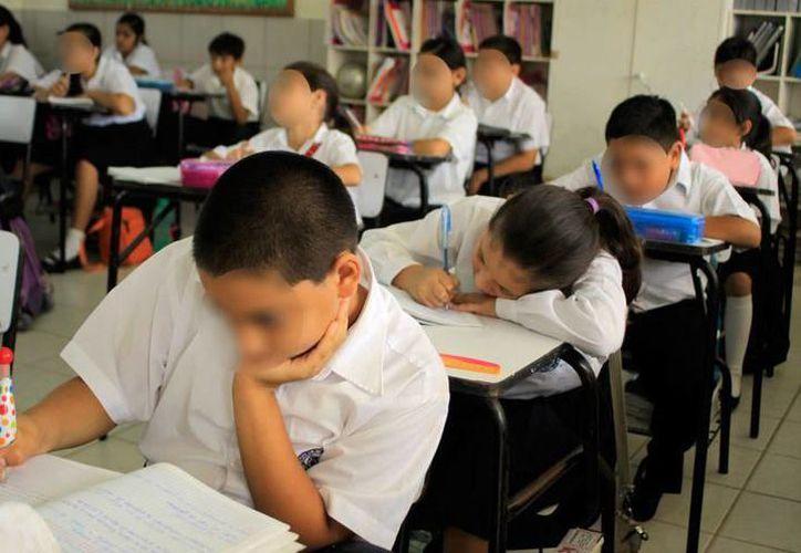 La ausencia en las aulas es casi nula en el nivel básico. (Milenio Novedades)