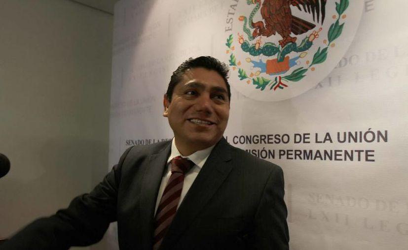 """Jorge Luis Preciado confía en que haya """"borrón y cuenta nueva"""" en la bancada de AN. (Archivo/Notimex)"""