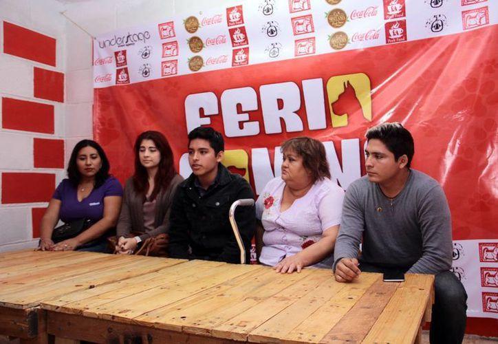Por medio de una rueda de prensa se dieron a conocer los detalles de la I Feria Canina en Mérida. (Jorge Acosta/SIPSE)