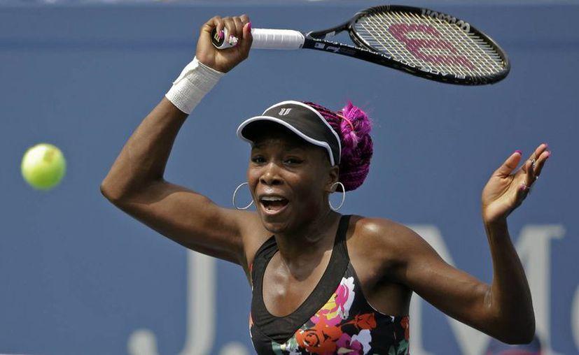 Venus participa en el tercer torneo, desde que fuera eliminada en la ronda inicial del Abierto de Francia. (Agencias)