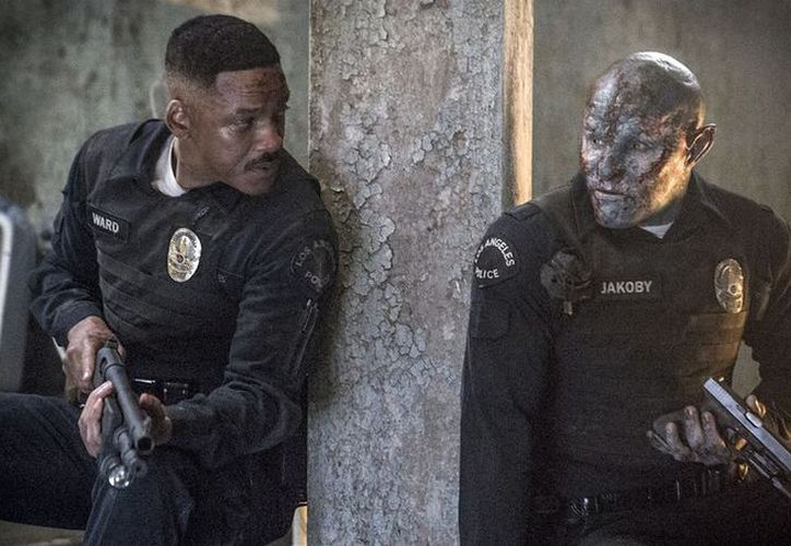 La película 'Bright' es protagonizada por Will Smith y Joel Edgerton. (Foto: Contexto)