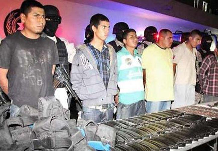 Fueron capturados por efectivos de la Policía Estatal de Caminos el pasado 26 de noviembre.(visionradio.com)