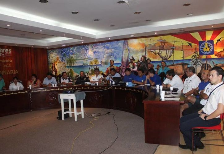 Se realizó la primera sesión del Comité Operativo Municipal. (Lanrry Parra/SIPSE)