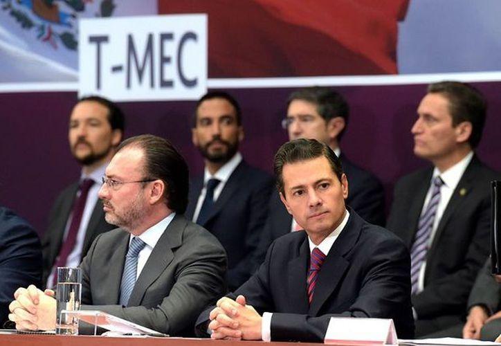 El presidente de México, Enrique Peña Nieto, firmará el tratado entre México, Estados Unidos y Canadá, el último día de su sexenio. (Cortesía)
