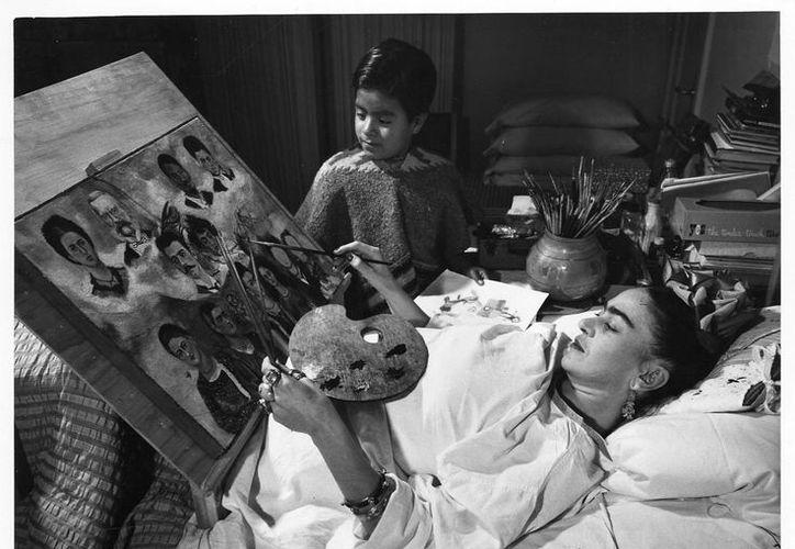 Se espera que en seis meses sea completamente restaurado el acervo de Frida Khalo. (Internet)