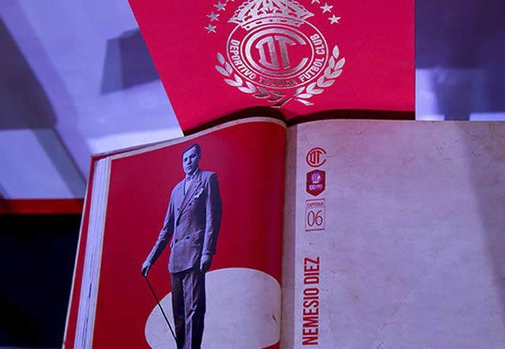 En el evento estuvo presente don Valentín Diez Morodo en donde comentó lo orgulloso que está por celebrar los 100 años del Club Toluca. (Foto: Especial, @TolucaFC)