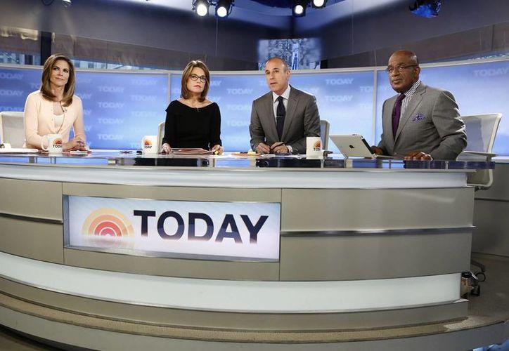 El programa 'Today' continuó en los estudios tras el intento de suicidio. (Agencias)