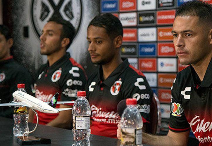 Presentaron a Mateus Gonçalves, Omar Mendoza y Pablo Aguilar como nuevos refuerzos para Xolos de Tijuana. (Contexto/Internet)